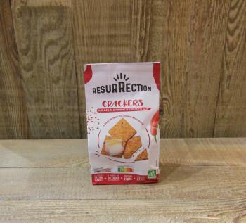 Crackers - Duo de lin et piment d'Espelette