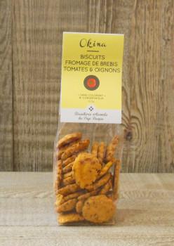 Biscuits brebis tomate oignon