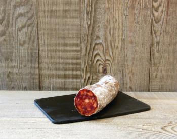 Chorizo doux coupe